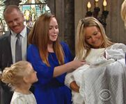 Faith Mariah Sully Christening
