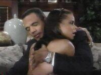 Neil hugs Drucilla