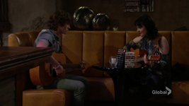 Reed's music lesson with Tessa