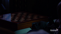 JT unlocks Victor's chessboard