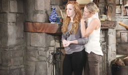 Sharon comforts Mariah