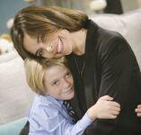 Reed hugs Victoria