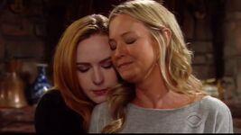 Mariah comforts Sharon