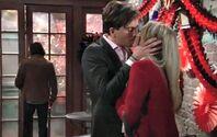 Zack & Abby kiss