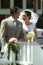 Nicholas and Victoria Newman