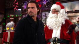 Nick and Santa Paul
