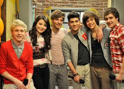 Carly with One Direction