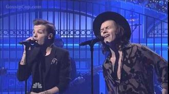 One Direction - Ready To Run @ Saturday Night Live