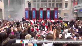 One Direction - Little Things - The Today Show (Nov 2012)