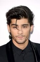 Long hairstyle of zayn
