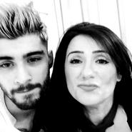 Zayn-and-Trisha-zayn-malik-selfie
