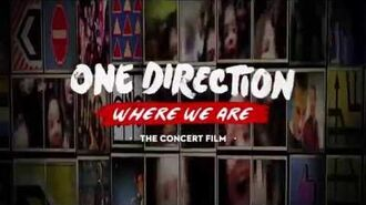 One Direction - 'Where We Are' Concert Film Trailer