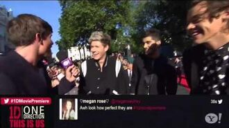 One Direction This Is Us Movie Premiere (Arriving on the Red Carpet)