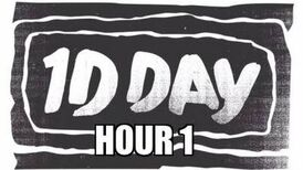One Direction - 1DDAY HOUR 1