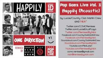 One Direction - Happily -Acoustic-