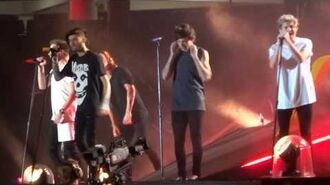 One Direction - Through The Dark - OTRA 7-2-15 Sydney HD