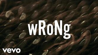 ZAYN - wRoNg (Lyric Video) ft