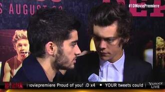 "One Direction ""This Is Us"" New York Premiere Interview"