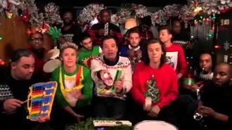"Jimmy Fallon, One Direction & The Roots- ""Santa Claus Is Co"