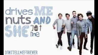 One Direction - Just Can't Let Her Go -BEST LYRIC VIDEO - demo version- HD