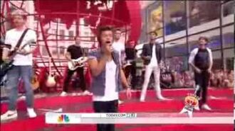 One Direction - Best Song Ever (Live on Today Show) HD