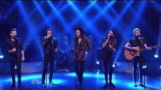 One Direction - Night Changes - SNL December 2014