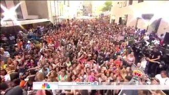 One Direction - Kiss You Live At (Today Show)