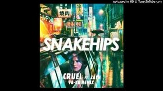 SNAKEHIPS - Cruel ft