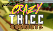 Crazy thicc coconuts background 4