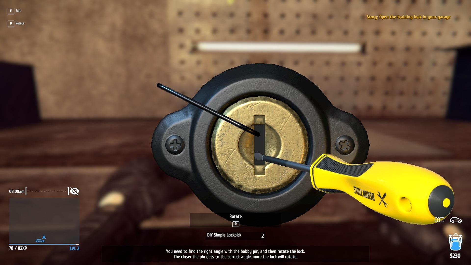 Diy Simple Lockpick Thief Simulator Wiki Fandom