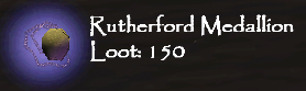 TDS loot Rutherford-Medallion