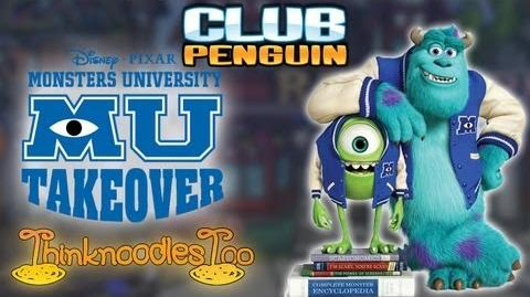 Club Penguin Monsters University Party Walkthrough
