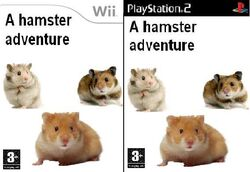 A hamster adventure Wii