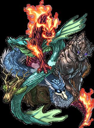 5 Elemental Dragons
