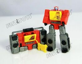Transformers JUSTiTOYS WST World Smallest TF - BLASTER.2