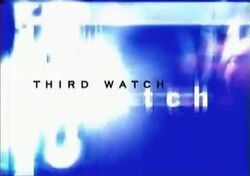 Third Watch titlecard (blue)