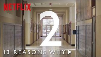 13 Reasons Why Season 2 Announcement HD Netflix