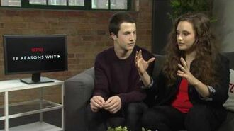 Interview Dylan Minnette & Katherine Langford