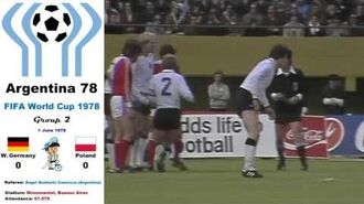 World Cup Argentina 1978- West Germany - Poland 0-0 (Group 2) - HD