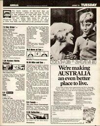 1973-06-12 TVT 2 Sam listing
