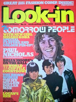 1978-05-20 Look-In magazine 1 cover