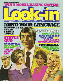 1978-10-14 Look-In 1 cover Mind Your Language