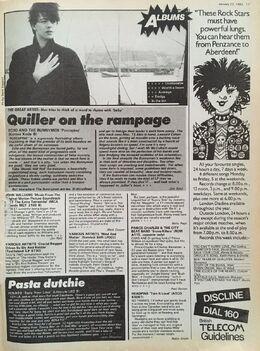 1983-01-22 RM Albums Porcupine