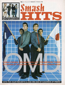 OMD Smash Hits 1 cover
