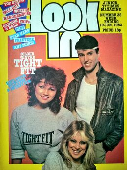 1982-06-19 Look-In 1 cover