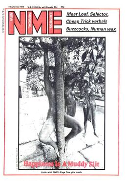 1979-09-08 NME 1 cover The Slits
