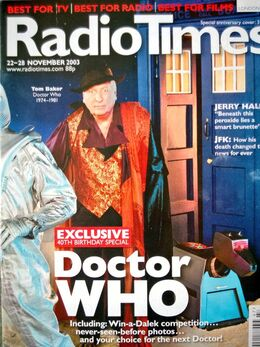 2003-11-22 RT 1 cover Doctor Who