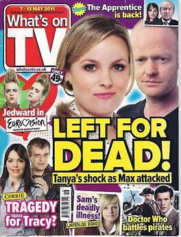 2011-05-07 Whats on TV 1 cover