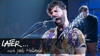Foals - The Runner (Later... With Jools Holland)