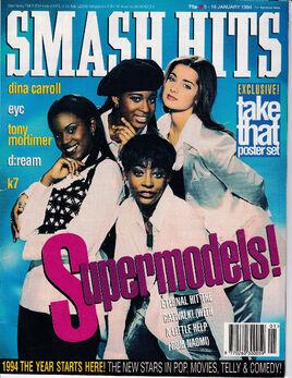 1994-01-19 Smash Hits 1 cover